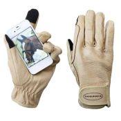 Euroriding Hirschleder Handschuh  Smartphone