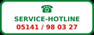 Service-Hotline 05141 / 98 03 28